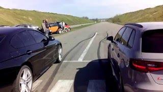 Audi RS3 vs BMW  650 drag