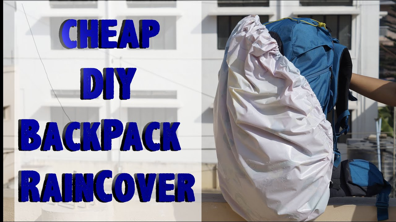 BackPack RainCover -DIY - YouTube