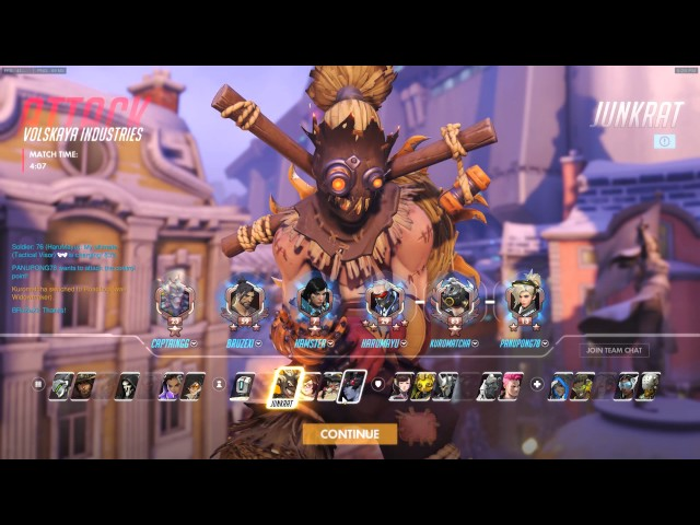 Overwatch Quick play : 2 ??????????