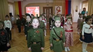 Праздник Дня Победы в детском саду. 9 мая. Утренник. Владикавказ.