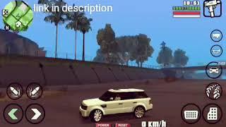 GTA SAN ANDREAS ANDROID: Range Rover - Шок видео с ютуба
