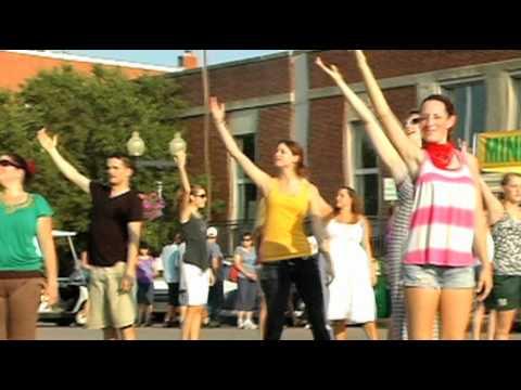 Oklahoma! - Flash Mob