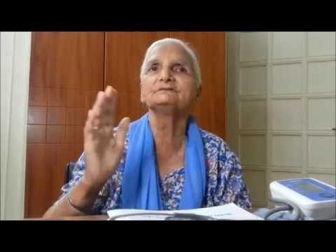 Partition of India-1947 witnessed by this old lady at 9yrs of age - Dr Narotam Dewan