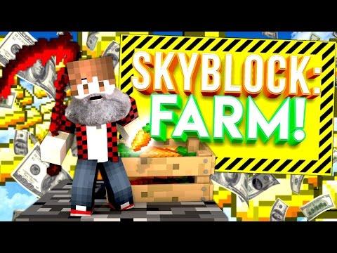 MY NEW ISLAND MEMBER & FARM! | Minecraft Skybounds #3