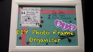 Diy Photo Frame Organiser
