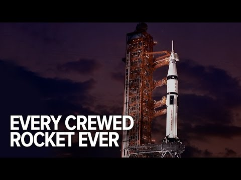 All The Crewed Rockets In History