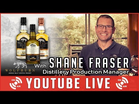 S4D Live with Shane Fraser - Wolfburn Production Manager