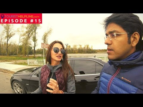 Indian hitchhiker with Russian Roadtrippers : Beautiful Russia (Gorno-Altaysk)