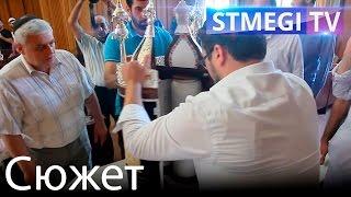 Внесение Сефер Торы в синагогу Дербента