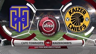 Absa Premiership 2019/20 | Cape Town City v Kaizer Chiefs | Highlights