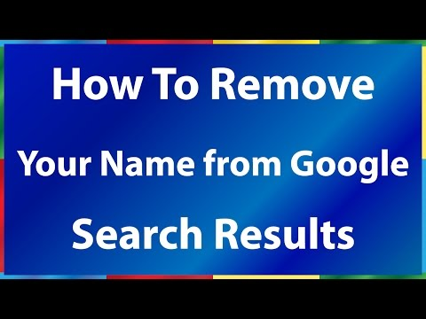 How to Remove Your Name from Google Search Results