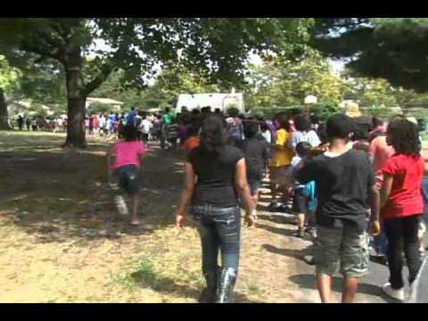 Heather Hills Elementary School Loop Trail Ribbon Cutting 8/26/11