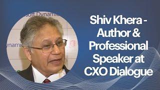 Shiv Khera - Author   Professional