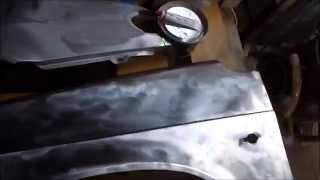 видео Ремонт бампера ВАЗ 2115, от покраски до замены после удара
