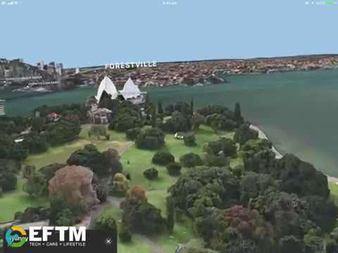 Apple Augmented Reality demonstrated in Apple Maps