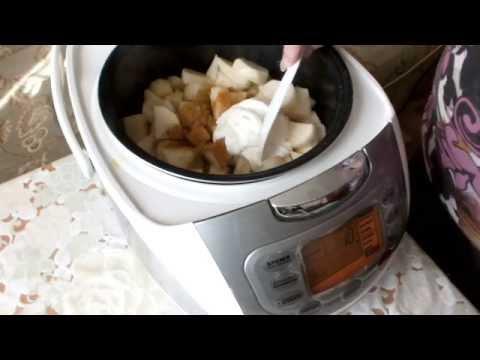 Картошка тушеная в мультиварке с тушенкой рецепт с фото пошагово