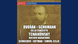 Concerto for Cello and Orchestra in A Minor, Op. 129: I. Nicht Zu Schnell - II. Langsam - III....