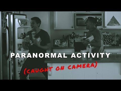 Paranormal Activity (caught on camera) | David Lopez