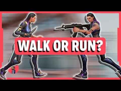 VALORANT Advanced Guide | When To Walk and Run | Tips and Tricks