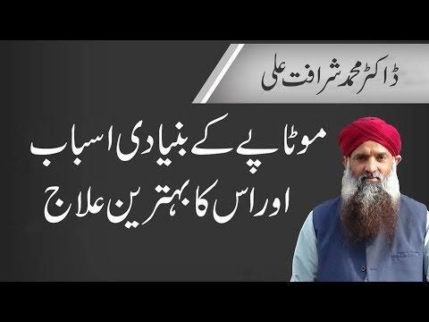 Motapa K Asbab or  Motapa Kam Karne Ka Tarika in Urdu/Hindi Dr Muhammad Sharafat Ali
