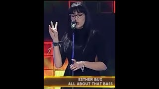 "Esther Bux cover All about that bass ""Carisma ascendente talento"""