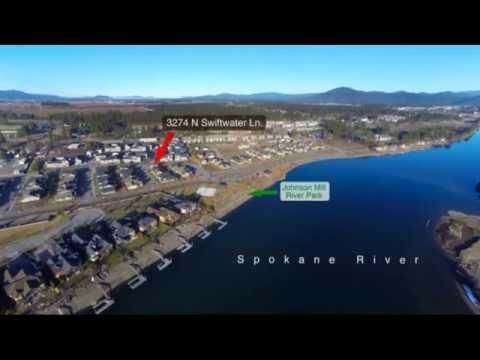 Coeur d'Alene Real Estate - Spokane River Home