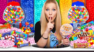 10 Ways to SNEAK into a Candy Store! - Challenge