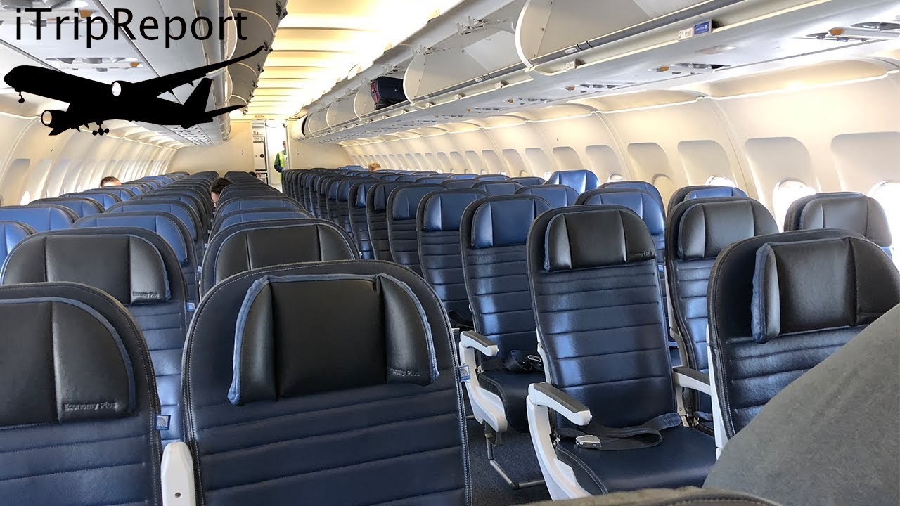 United Airlines A320 First Class Review Youtube