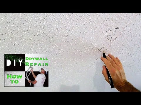 How to repair your cracked drywall ceiling with this trick | So that crack never comes back! Mp3