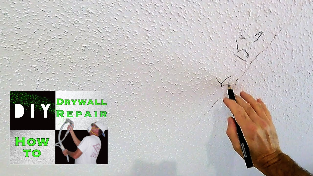 repairing stress cracks in drywall ceilings