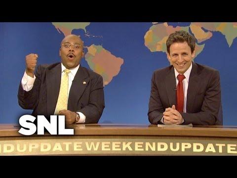 Weekend Update: Herman Cain on Suspending His Presidential Campaign - SNL