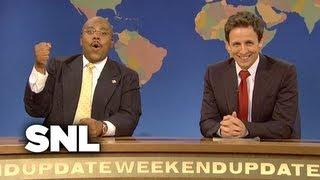 Weekend Update Herman Cain on Suspending His Presidential Campaign - SNL