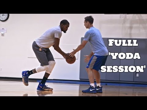 'Still KD' Kevin Durant Workout With Steve Nash FULL YODA SESSION