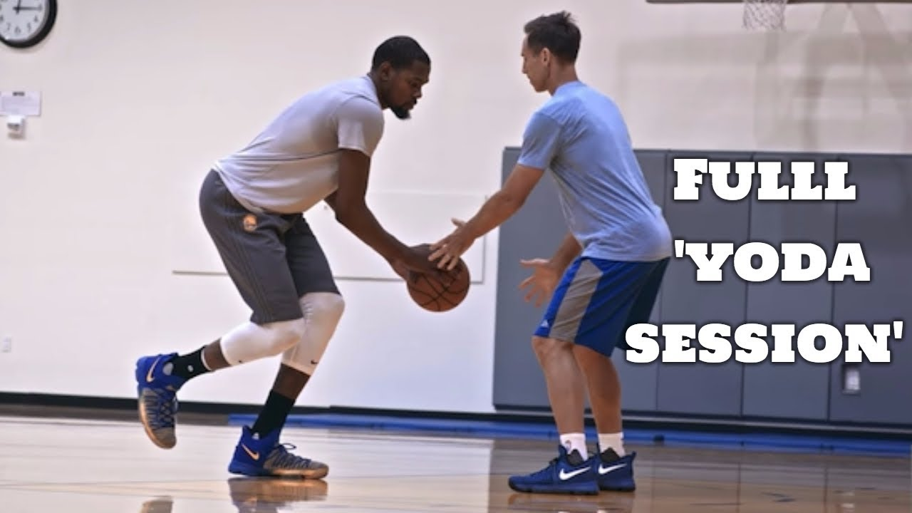 45ef6a562a6 Still KD  Kevin Durant Workout With Steve Nash FULL YODA SESSION ...