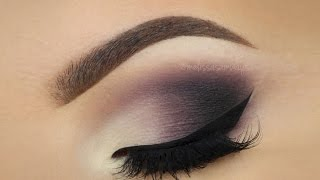 ♡ Matte Plum Smokey Eye ♡ Make Up Tutorial ♡ (English)