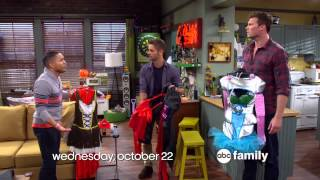 [PROMO/HD] Melissa & Joey and Baby Daddy Halloween Specials 2014