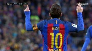 Lionel Messi vs Osasuna (Home) 16-17 (26/04/2017) - English Commentary