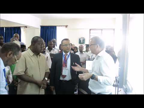 Visit CS to Mombasa Smart Classroom