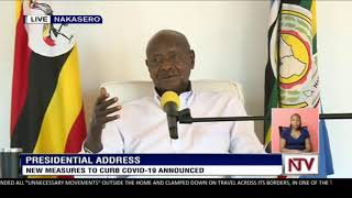 LIVE: President Museveni addresses the nation after Uganda confirmed its first coronavirus case