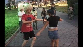 Девушки Танцуют С Кавказцами В Баку 2019  Чеченская Лезгинка ALISHKA ELVIN ELXAN FERID
