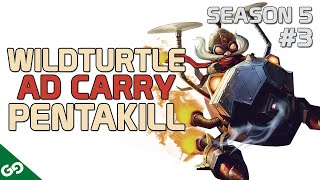 TSM Wildturtle Corki Pentakill - NA LOL Highlight