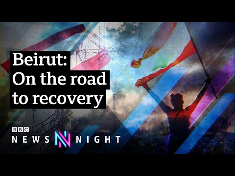 'What does Beirut look like?' Life in Lebanon after the port explosion - BBC Newsnight