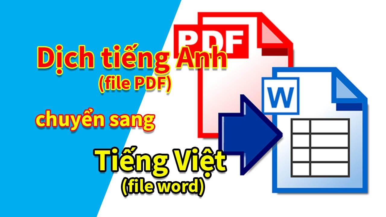 Duy Anh tv | Dịch tiếng Anh (PDF) sang tiếng Việt (Word) miễn phí trong 3 bước (Thủ thuật Online)