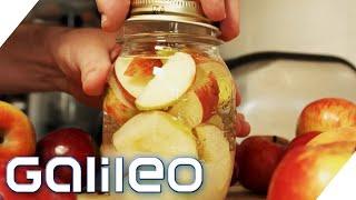 Lebensmittel haltbar machen: So sind Äpfel & Co. jahrelang frisch!   Galileo   ProSieben