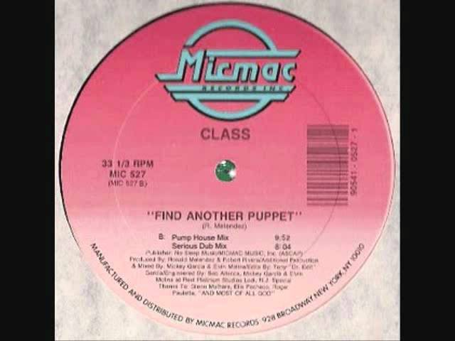 Find Another Puppet - Class
