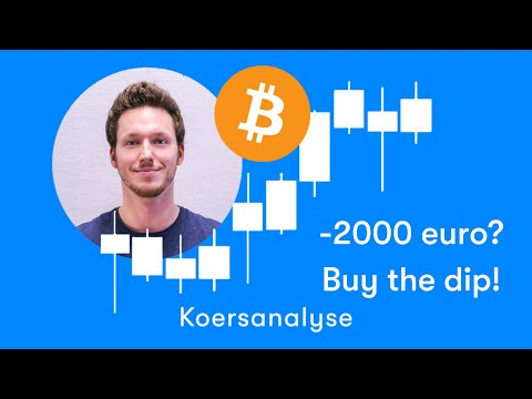 Bitcoin Koers Daalt Met 2000 Euro, Buy The Dip! | Technische Analyse Week 28, 2019 | BTC Direct