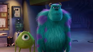 Monsters at Work Episode 1 but only when Mike and Sully are on screen