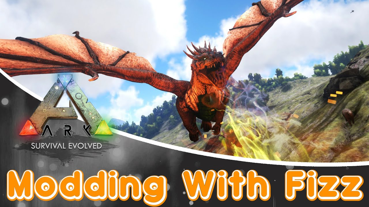 Ark survival evolved mod small dragons youtube malvernweather Gallery