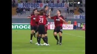 Lazio 1-5 Milan - Campionato 2007/08