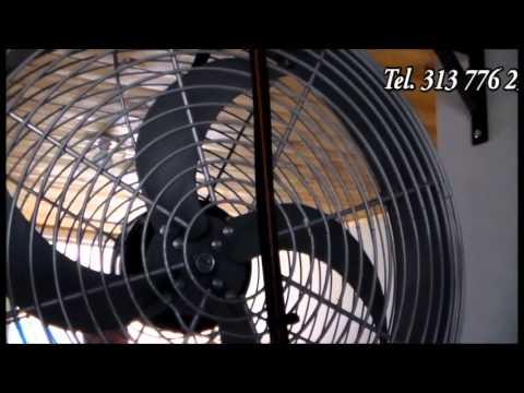 Ventilador con atomizador de agua youtube - Ventilador de agua ...